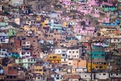 Vorort in Lima, Peru