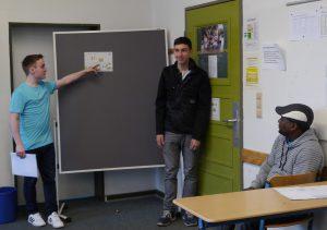 Schüler präsentieren ihre Ideen