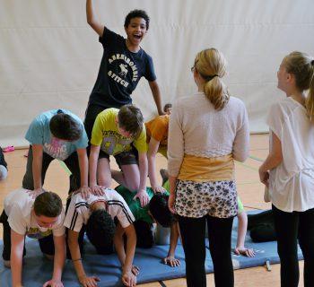 Akrobatik am See_1a